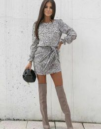 Ефектна дамска рокля - код 0361 - 4