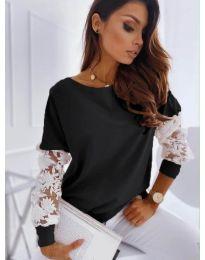Елегантна дамска блуза в черно - код 4426