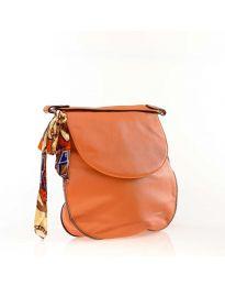 Дамска чанта в цвят корал - код NH2816