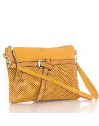 Дамска чанта в кафяво - код LS 589