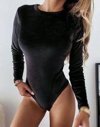Дамско боди в черно - код 5478