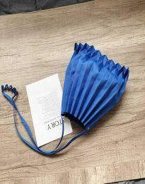 Ефектна дамска чанта в синьо - код B521