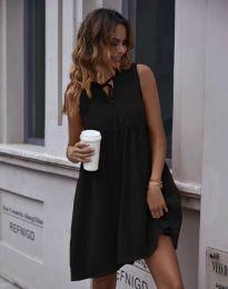 Свободна рокля в черно - код 0286