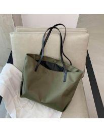 Дамска чанта в маслено зелено - код B152
