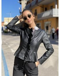 Дамско яке в черно - код 853
