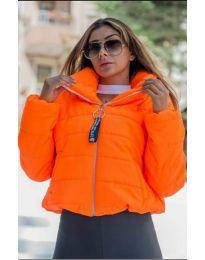 Яке в оранжев цвят - код 9161