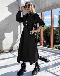 Дамска рокля в черно - код 1467