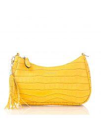 Дамска чанта в  жълто  - код JW6489