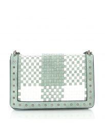 Дамска чанта в цвят мента - код 92083