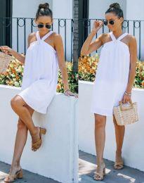 Атрактивна рокля в бяло - код 9103