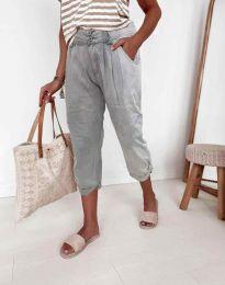 Дамски панталон в сиво - код 8493