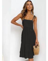 Дамска рокля в черно - код 630