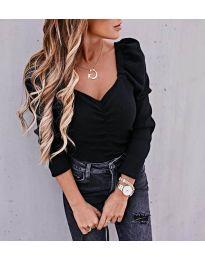Дамска блуза в черно - код 394