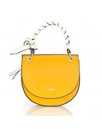Дамска чанта в цвят горчица - код NH2813