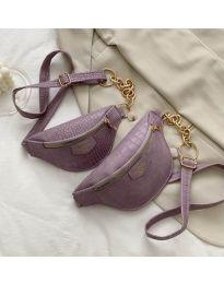 Дамска чанта в лилаво - код B26/192