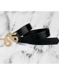 Дамски колан в черно - код Р57