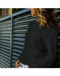 Дамска блуза в черно - код 825