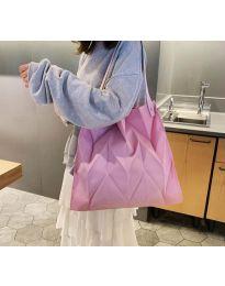 Атрактивна дамска чанта в розово - код B522