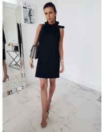 Елегантна черна рокля - код 801