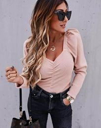 Атрактивна дамска блуза в розово - код 394