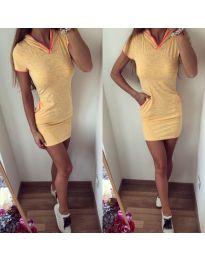 Спортна рокля с къси ръкави - код 153