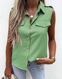 Дамска риза в зелено - 6598