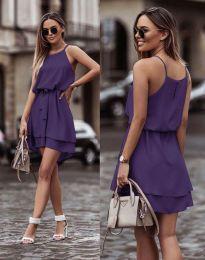 Феерична рокля в тъмнолилаво - код 2104