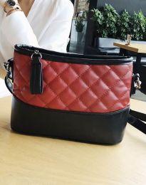 Атрактивна дамска чанта в червено - код B305