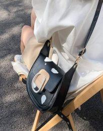 Атрактивна дамска чанта в черно - код B501