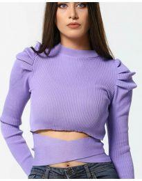 Дамска блуза в лилаво - код 4519