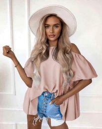 Атрактивна дамска блуза в розово - код 0157