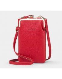 Дамска чанта в червено - код B145