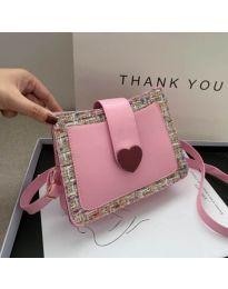 Дамска чанта в розово - код B117