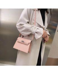Дамска чанта в розово - код B153