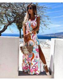 Дамска рокля с атрактивен мотив - 0583