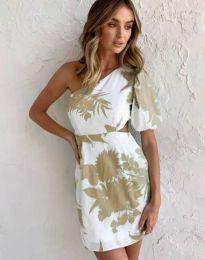 Атрактивна рокля с едно рамо - код 4650 - 4