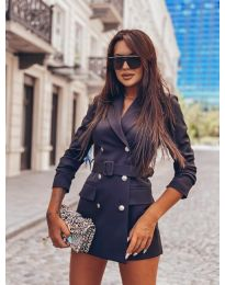 Дамско елегантно сако в черно - код 834