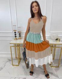 Атрактивен модел рокля - код 3392 - 2