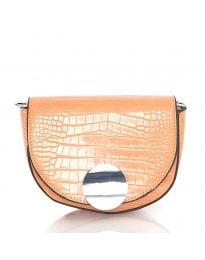 Дамска чанта в цвят праскова - код DM-13