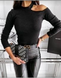 Дамска блуза в черно - код 8570