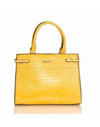 Дамска чанта в жълто - код HS - 8104