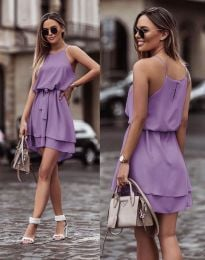 Феерична рокля в лилаво - код 2104