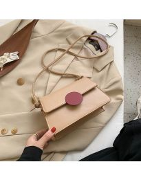 Дамска чанта в бежово - код B84