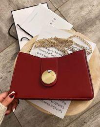 Дамска чанта в цвят бордо - код B416