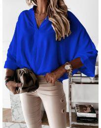 Дамска риза в синьо - код 932
