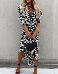 Ефектна дамска рокля - код 2860 - 1