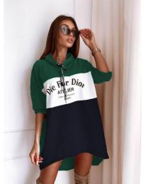 Дамска спортна рокля - код 9090-9