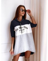 Дамска спортна рокля - код 9090-2
