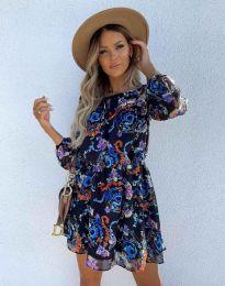Стилна дамска рокля - код 9275 - 3