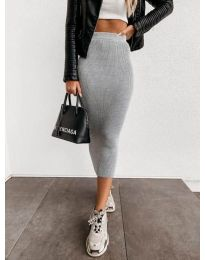 Дамска пола в сиво - код 4043